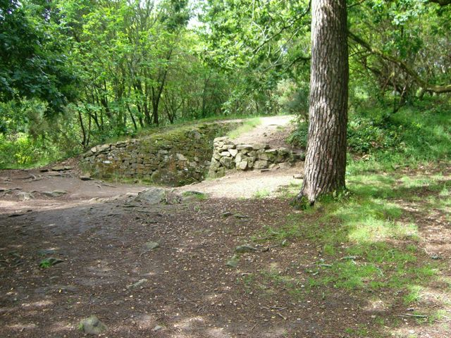 The impressive Kercado Tumulus, which is now fairly overgrown.