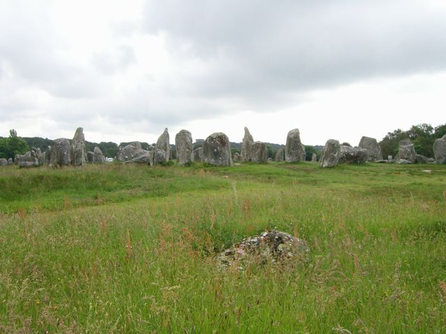 The area surrounding the stones is currently fenced off to allow the ground to 'regenerate'.