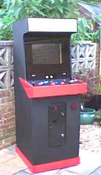 Please note - I don't actually operate the machine in the garden, it just makes the light much better for taking pictures with my very cheap digital camera.